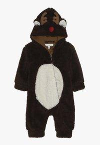 Name it - NBNMUDOLPH TEDDY SUIT - Jumpsuit - bronze brown - 0