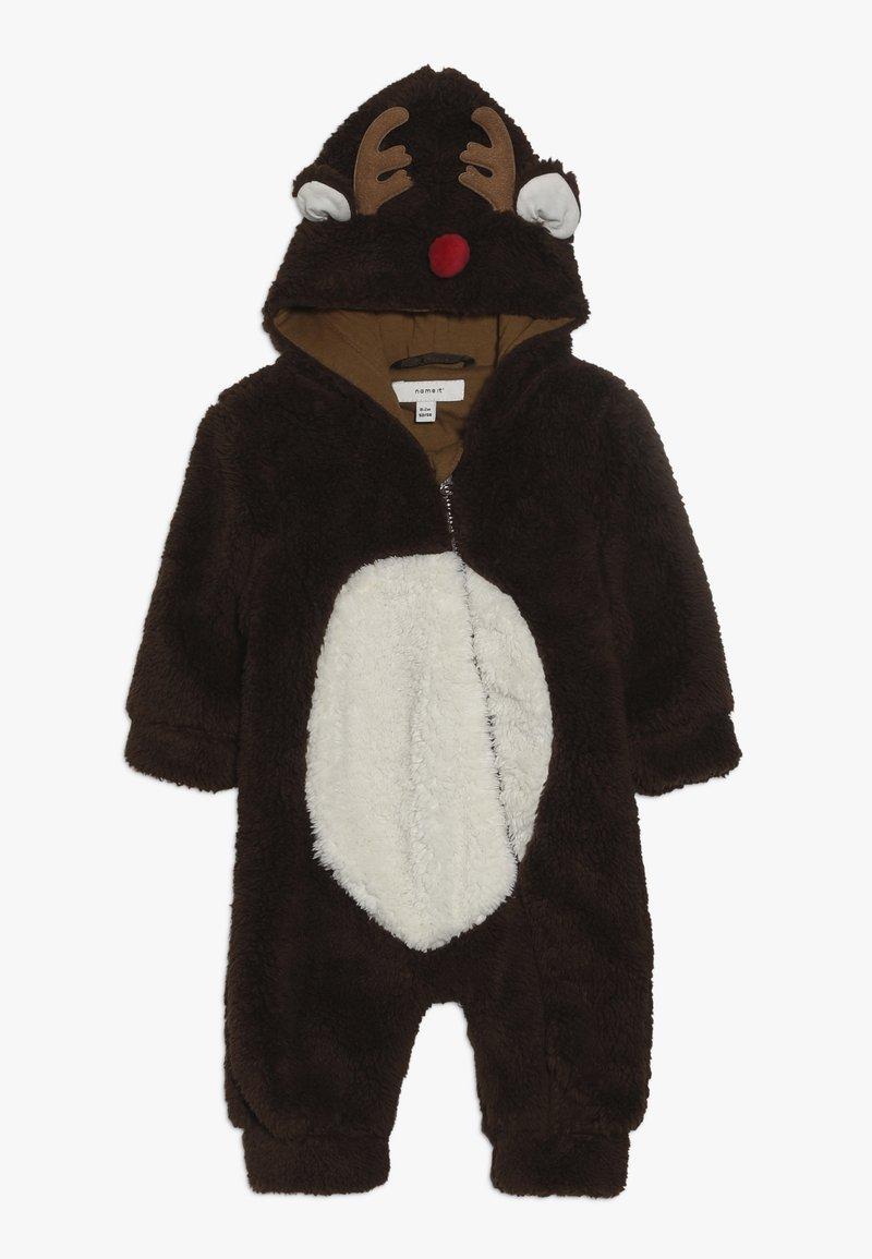 Name it - NBNMUDOLPH TEDDY SUIT - Jumpsuit - bronze brown