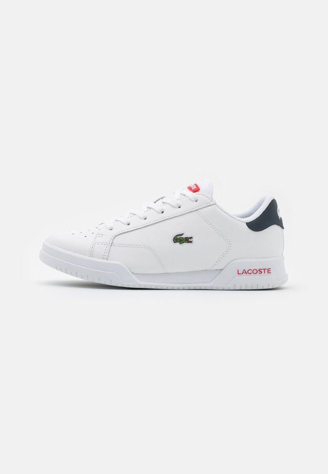 TWIN SERVE - Baskets basses - white/navy/red