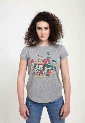 DISNEY CLASSICS MICKEY MOUSE HOLIDAY GROUP  - T-shirts print - melange grey