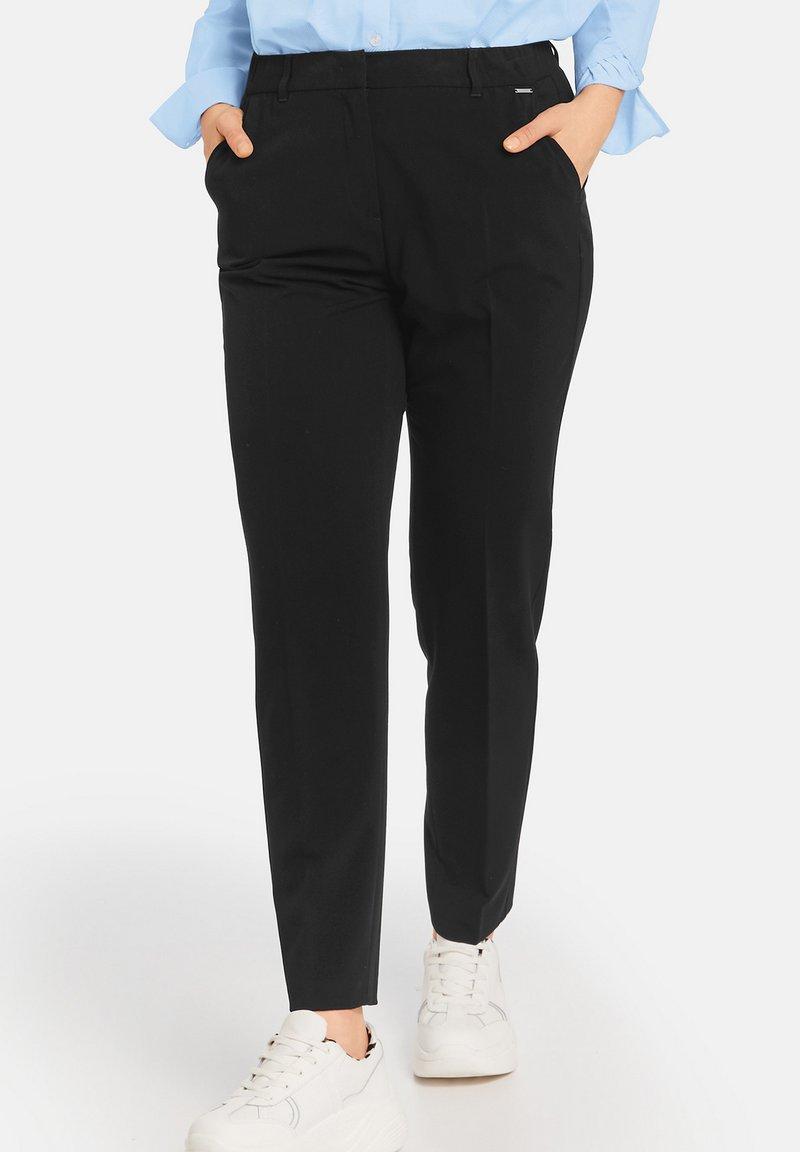Samoon - GRETA - Trousers - black