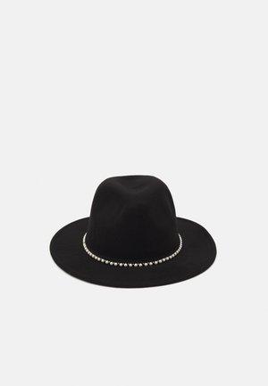 TRIM FEDORA UNISEX - Hat - black