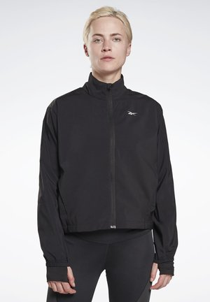 RUNNING ESSENTIALS - Verryttelytakki - black
