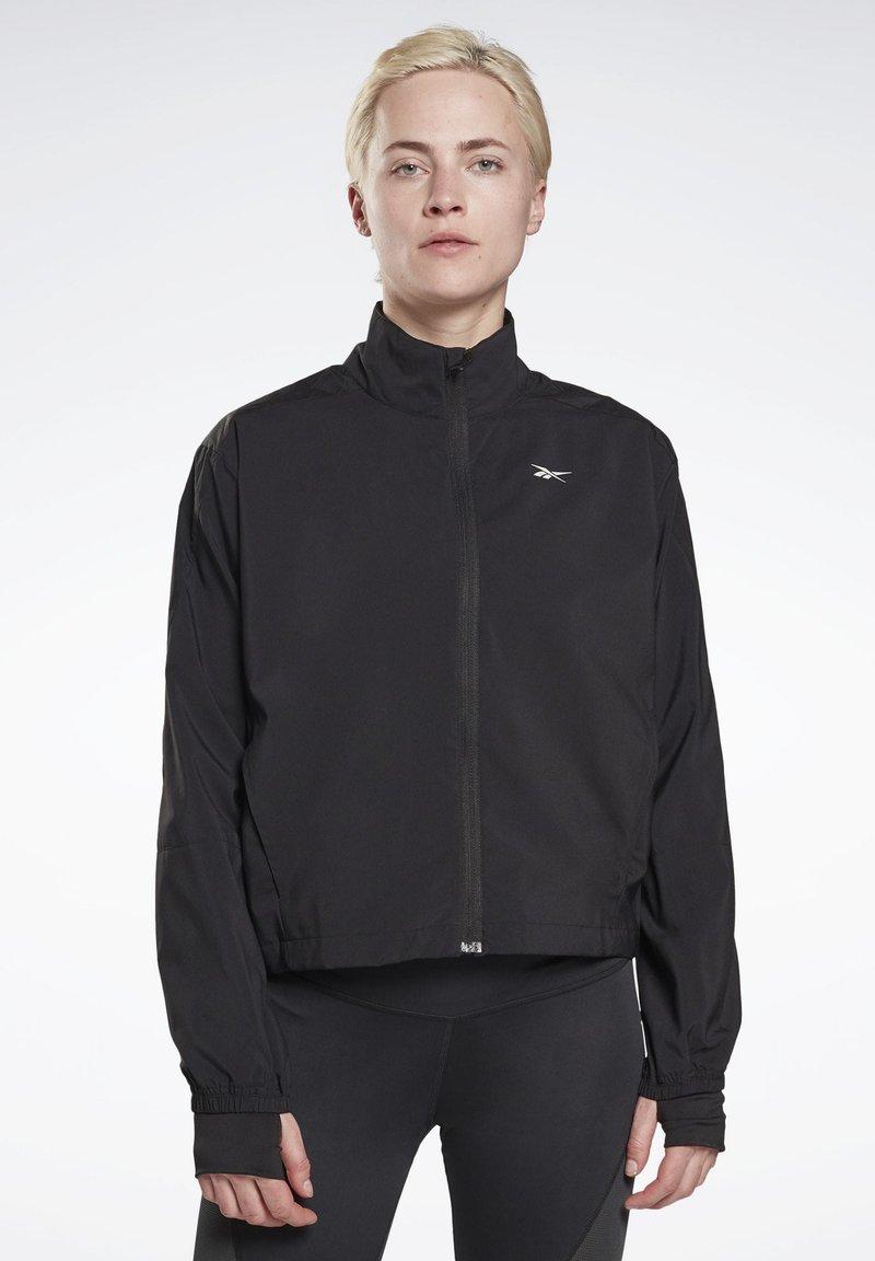 Reebok - RUNNING ESSENTIALS - Training jacket - black