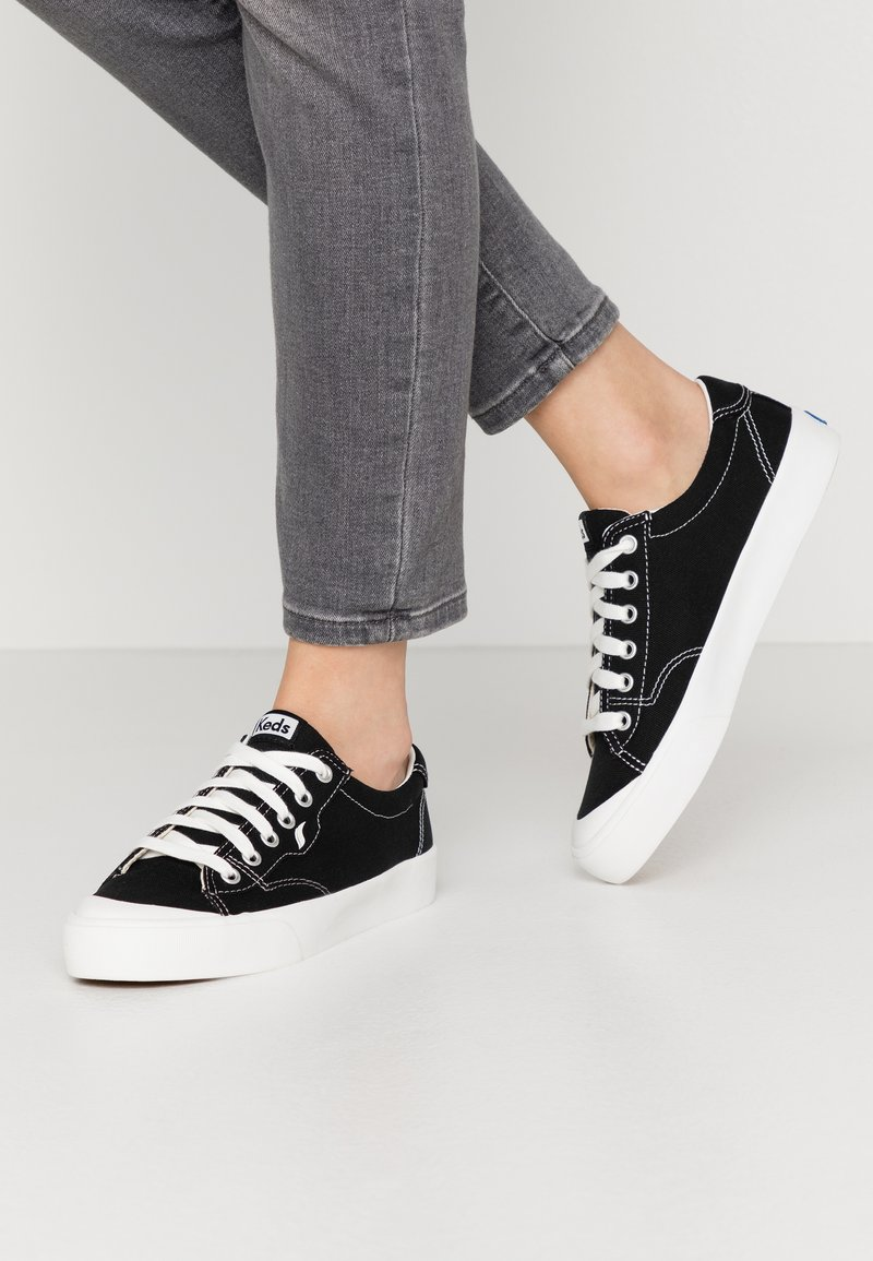 Keds - CREW KICK - Sneakersy niskie - black