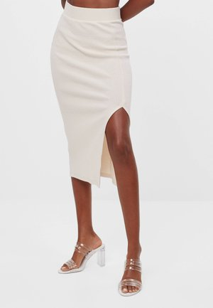 Blyantnederdel / pencil skirts - beige
