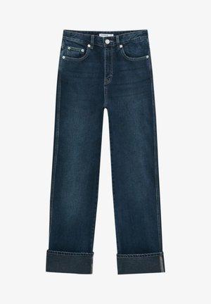 BOYFRIEND - Jeans baggy - dark blue