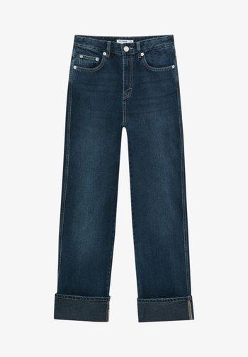 BOYFRIEND - Relaxed fit jeans - dark blue