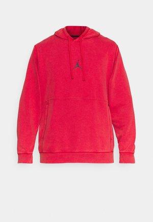 AIR HOODIE - Felpa - gym red/black