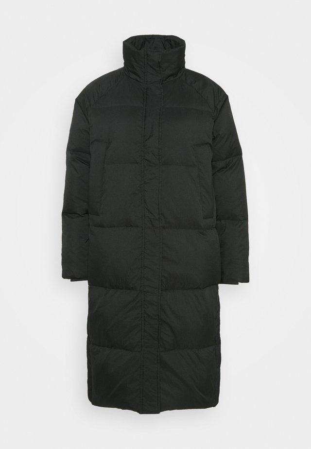 FRANCESCA - Kabát zprachového peří - black