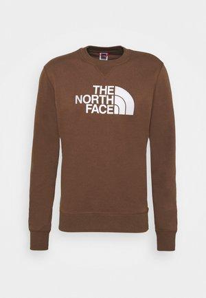 DREW PEAK CREW - Sweatshirt - earth brown
