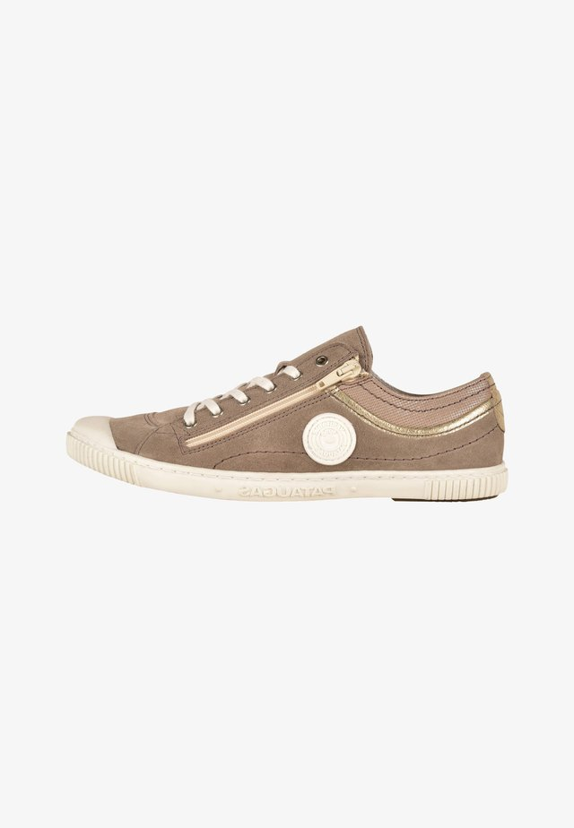 BISK/MIX F2E - Sneakers laag - gray taupe