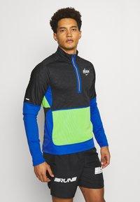 Nike Performance - Löparjacka - black/game royal/reflective silver - 0