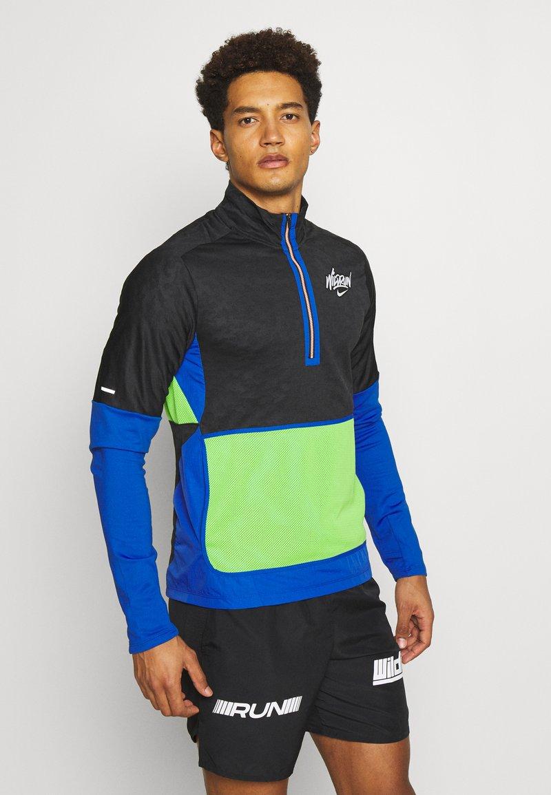 Nike Performance - Löparjacka - black/game royal/reflective silver