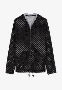 Tezenis - Zip-up hoodie - nero st.microcuore - 3