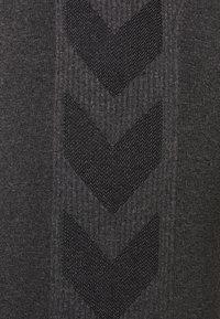 Hummel - HMLCI  - Leggings - black melange - 5
