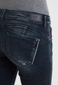 Le Temps Des Cerises - Jeans Skinny Fit - black/blue - 5