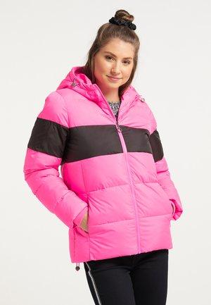 Winter jacket - pink espresso