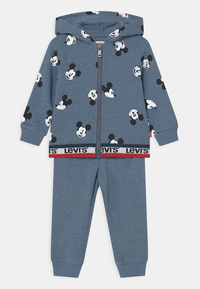 Levi's® - ZIP UP TAPING SET - Tracksuit - navy heather