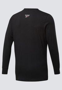 Reebok Classic - CLASSICS HOTEL LONG-SLEEVE TOP - Long sleeved top - black - 7