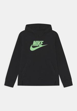 Jersey con capucha - black, green