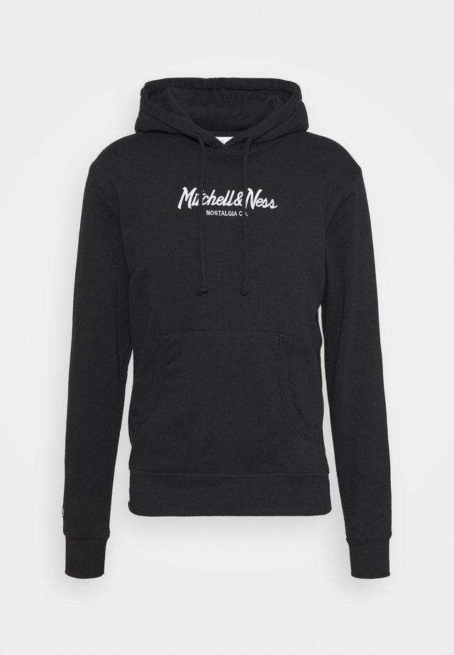 PINSCRIPT HOODY - Sweatshirts - black