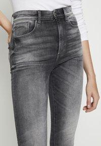G-Star - KAFEY STUDS ULTRA HIGH SKINNY  - Jeans Skinny Fit - vintage basalt - 4
