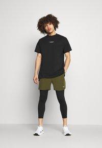 SQUATWOLF - WARRIOR LEGGINGS - Leggings - black - 1