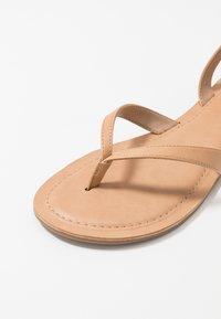 Call it Spring - SIMKOTRA - T-bar sandals - beige - 6