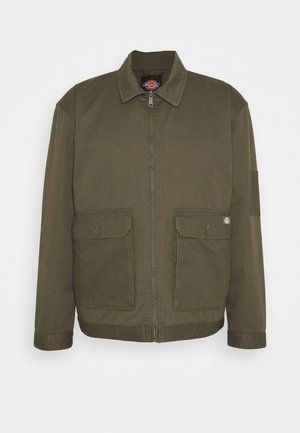 UTILITY EISENHOWER - Summer jacket - moss green