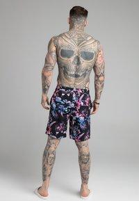 SIKSILK - HAWAII BOARD SWIM - Swimming shorts - black - 2