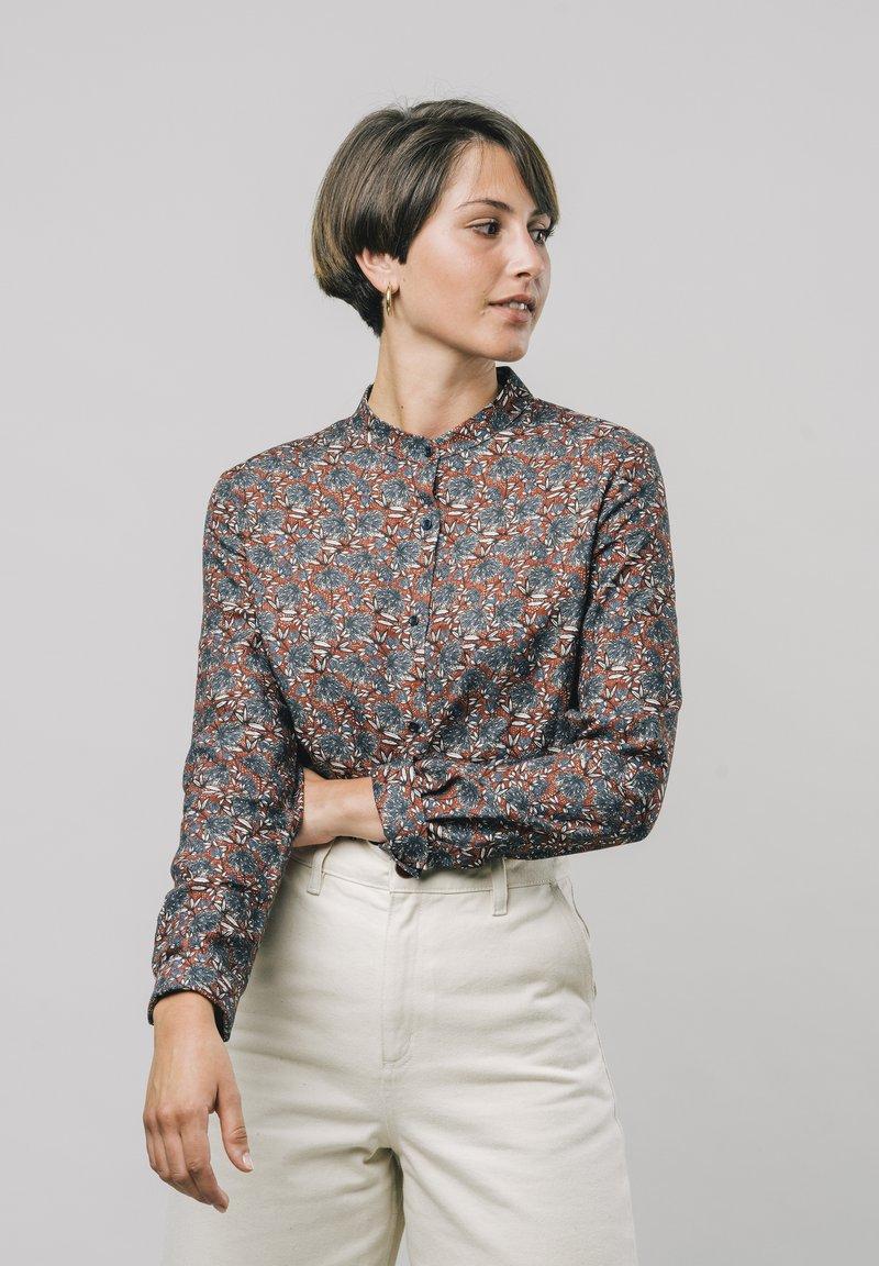 Brava Fabrics - Button-down blouse - red