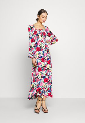 SQUARE NECK MAXI DRESS - Day dress - multi-coloured