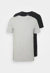 Nike Underwear - CREW NECK 2 PACK - Hemd - grey - 5