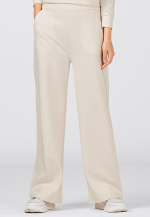 Pantalon classique - creme