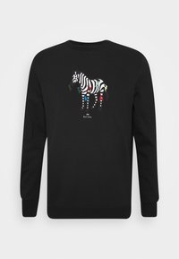 COLORED ZEBRA  - Sweatshirt - black