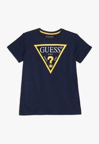 Guess - CORE JUNIOR  - Print T-shirt - blue/white - 0