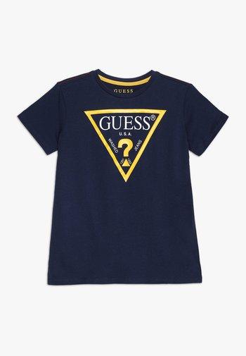 JUNIOR CORE - T-Shirt print - blue/white
