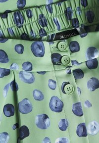 Monki - SIGRID SKIRT - A-line skirt - green/mintblue - 2