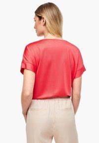 s.Oliver BLACK LABEL - Print T-shirt - popsicle pink - 2