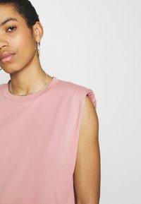 Lindex - Basic T-shirt - light pink - 4