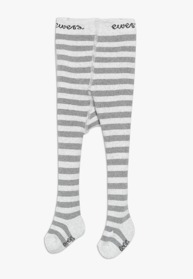 THERMO BABY RINGEL 2 PACK - Tights - hellsilber meliert