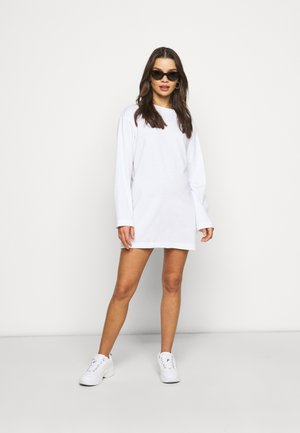 BASIC DRESS 2 PACK - Jersey dress - white