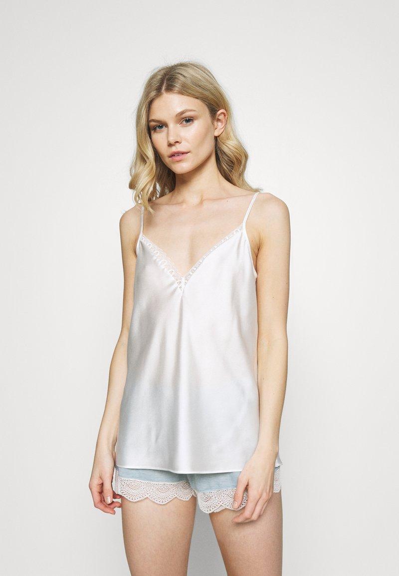 Etam - DEEZE TOP - Haut de pyjama - ecru