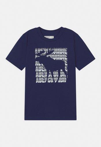 PRIMARY PRINT LOGO - Camiseta estampada - navy