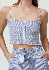 O'Neill - VACATION CO-ORD - Top - blue with white - 3