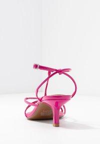 Who What Wear - FREYA - Sandals - magenta - 4