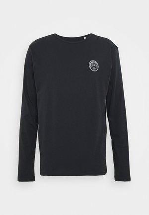 LOCUST BADGE LONG SLEEVE - Long sleeved top - dark blue