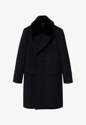 WILSON - Classic coat - schwarz