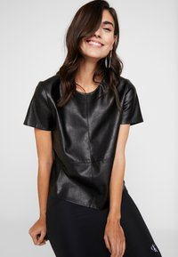 Opus - FASINELA - Blouse - black - 3